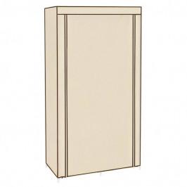 Sconto Látková šatní skříň RYG84 béžová