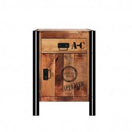 Sconto Spodní skříňka IRON mangovník
