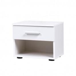 Sconto Noční stolek ESME bílá, set 2 ks