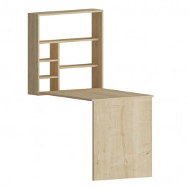 Sconto Psací stůl s regálem SEDIR dub