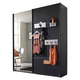 Sconto Šatní skříň SHEA šedá, 181 cm
