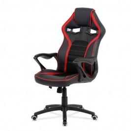 Sconto Kancelářská židle ALIEN černá/červená