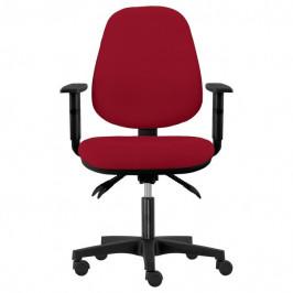 Sconto Kancelářská židle DELILAH vínová