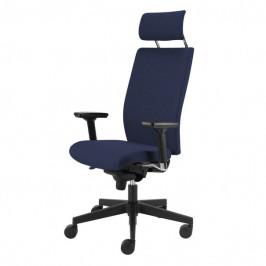 Sconto Kancelářská židle CONNOR modrá
