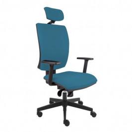 Sconto Kancelářská židle LAUREN modrošedá