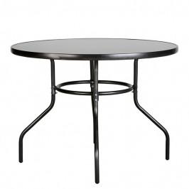 Sconto Zahradní stůl CORDOBA 3 antracit/černá