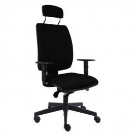 Sconto Kancelářská židle CHARLES černá