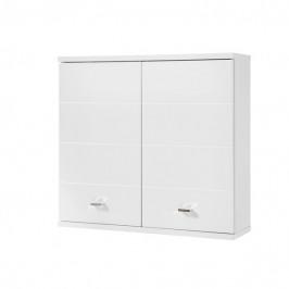 Sconto Závěsná skříňka POOL bílá vysoký lesk, šířka 76 cm