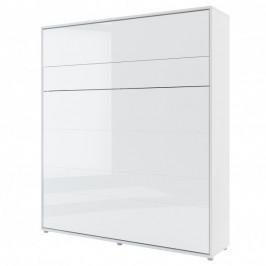 Sconto Postel BED CONCEPT 1 bílá/vysoký lesk, 180x200 cm
