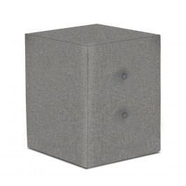 Sconto Noční stolek FABBY šedá