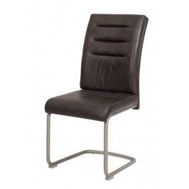Sconto Jídelní židle PAULA antracitová