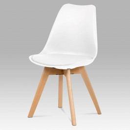 Sconto Židle JULIE bílá