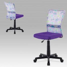 Sconto Dětská židle BAMBI fialová s motivem