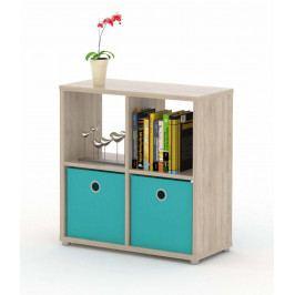 Sconto Regál/knihovna LITE RM22 dub sonoma