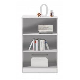 Sconto Regál/knihovna OPTIMUS 35-014-66 bílá