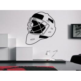 Samolepka na zeď Helma hokejového brankáře 0692