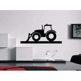 Samolepka na zeď Traktor 0716