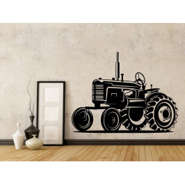 Samolepka na zeď Traktor 0722