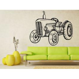 Samolepka na zeď Traktor 0724