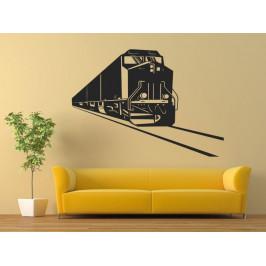 Samolepka na zeď Vlak 0800