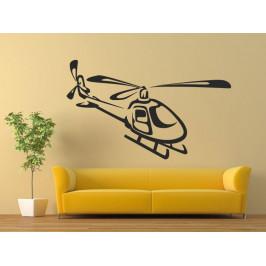 Samolepka na zeď Helikoptéra 0809