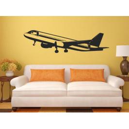 Samolepka na zeď Letadlo 0827