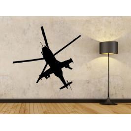 Samolepka na zeď Vrtulník 0844