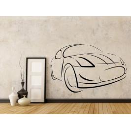 Samolepka na zeď Auto 0883