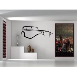 Samolepka na zeď Auto 0890