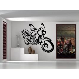 Samolepka na zeď Motorka 1028