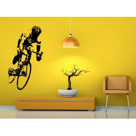 Samolepka na zeď Cyklista 1039