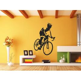Samolepka na zeď Cyklista 1040