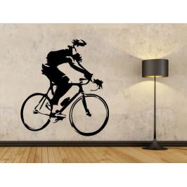 Samolepka na zeď Cyklista 1042