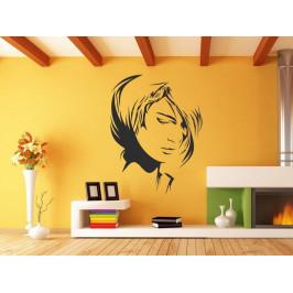 Samolepka na zeď Portrét ženy 1082