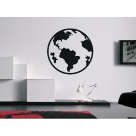 Samolepka na zeď Planeta Země 1225