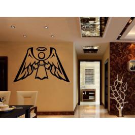 Samolepka na zeď Anděl s křídly 1245