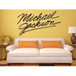 Samolepka na zeď Michael Jackson Podpis 1331