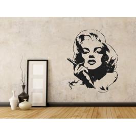 Samolepka na zeď Marilyn Monroe 1354