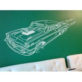 Samolepka na zeď Auto 007