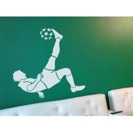 Samolepka na zeď Fotbalista 001
