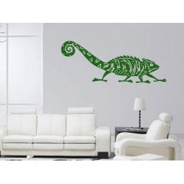 Samolepka na zeď Chameleon 003