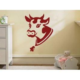 Samolepka na zeď Kráva 003