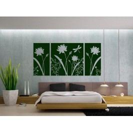 Samolepka na zeď Květiny 010