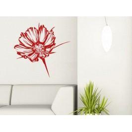 Samolepka na zeď Květiny 030