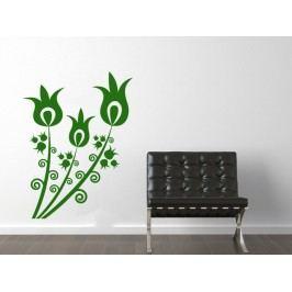 Samolepka na zeď Květiny 032