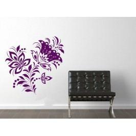 Samolepka na zeď Květiny 040