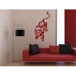 Samolepka na zeď Lev 012