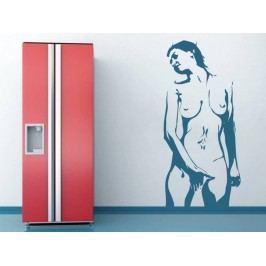 Samolepka na zeď Nahá žena 001