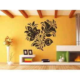 Samolepka na zeď Ornamenty z rostlin 018