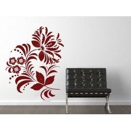 Samolepka na zeď Ornamenty z rostlin 039